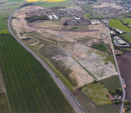 East Lothian Developments completes the sale of over 25 acres of land to Persimmon Homes and Barratt